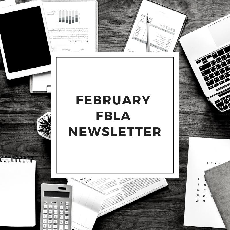 FBLA Newsletter - February