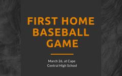 First Boys' Home Baseball Game