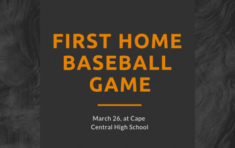 First Boys' Home Baseball Game
