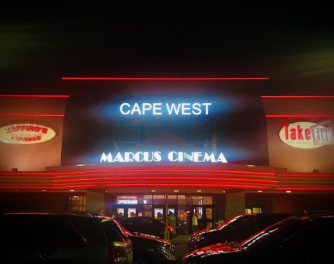 Cape West Marcus Cinema at Night