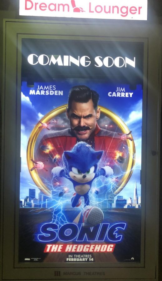 Sonic the Hedgehog in theaters February 14th