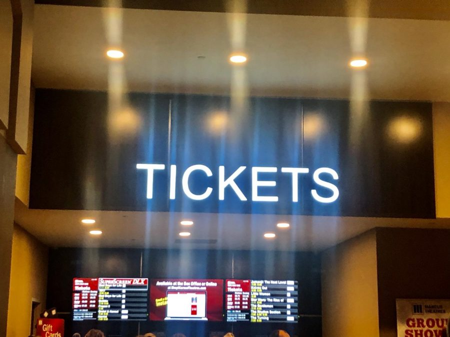Ticket Counter in Marcus Theaters