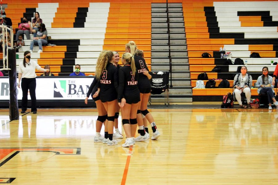 Lady Tiger's Volleyball Fall 2020