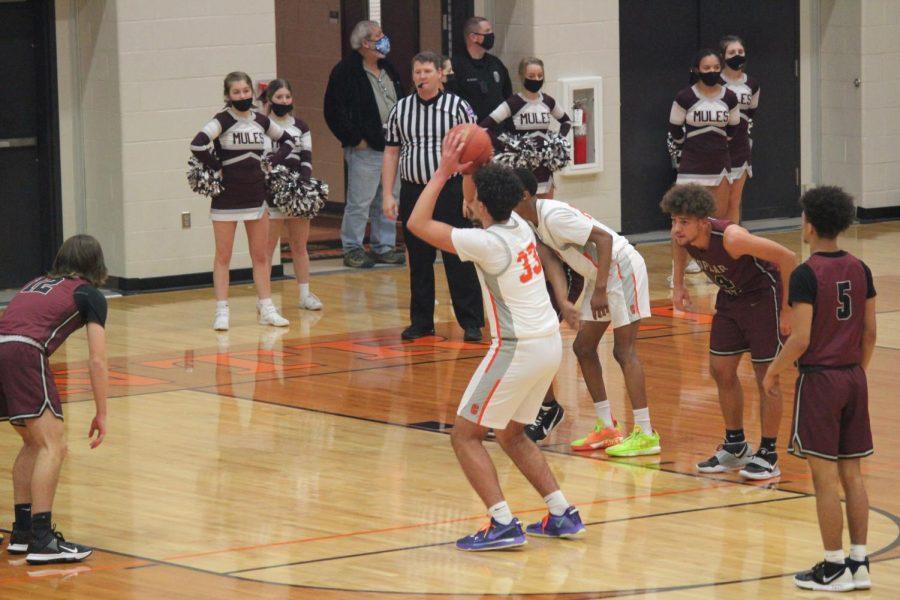Varsity Boys Basketball V. Poplar Bluff