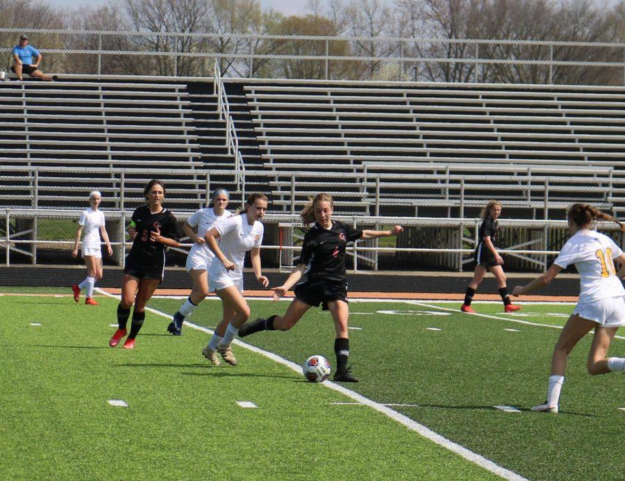 Girls Soccer vs. St. Vincent 3/27/21