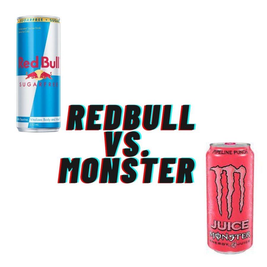 Red Bull vs. Monster