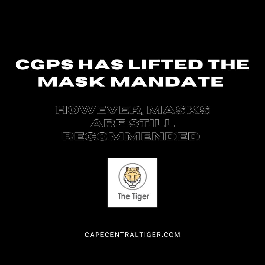 Cape Girardeau Public Schools Lifts Mask Mandate